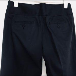 LAUNDRY BLACK COTTON SLACKS SIZE 6